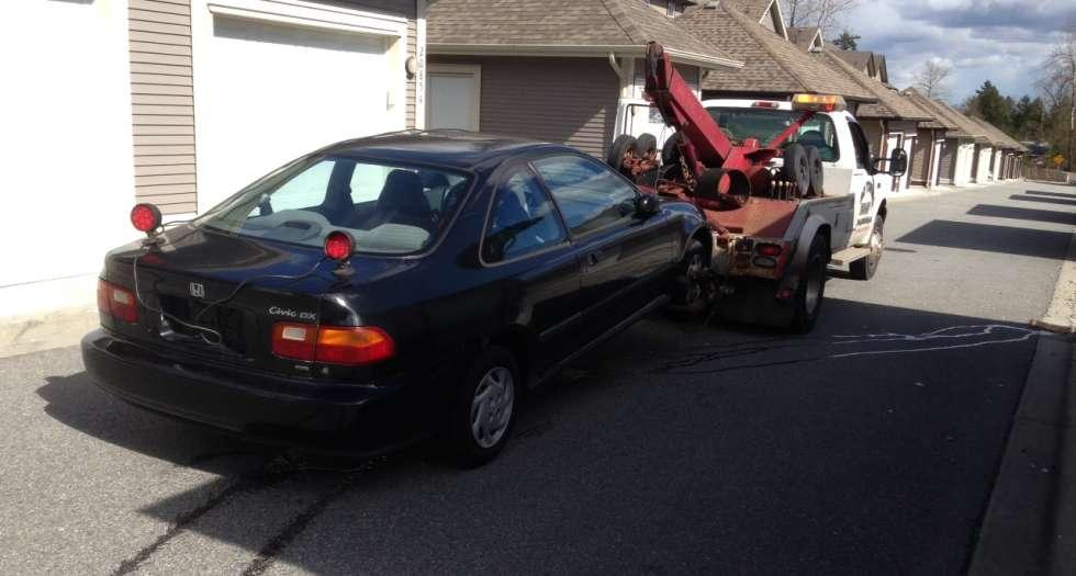scrap car removal surrey